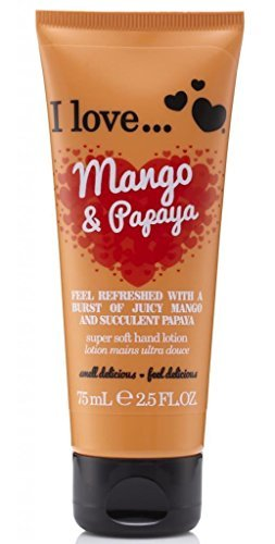 I Love... Mango & Papaya Super Soft Hand Lotion 75ml by I Love (Soft Papaya)