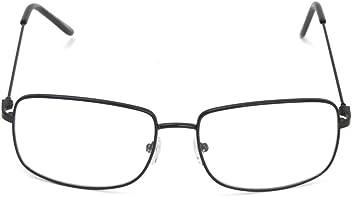 f2a05ea7c5 The One Who Knocks Clear Rectangle Aviator Lens Glasses