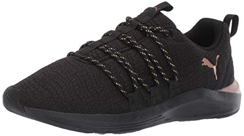 (PUMA Women's Prowl Alt Sneaker Black Rose Gold, 5.5 M US )