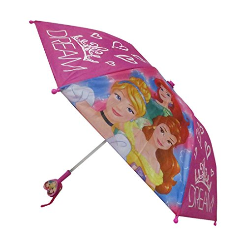 Umbrella Princess (Disney Princess Girls Together We are Strong Umbrella - Heart Shaped Handle)