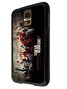 Samsung Galaxy S5 Walking Dead Zombie Blood 144 Designer Trend Hard Back Shell Case Cover Skin