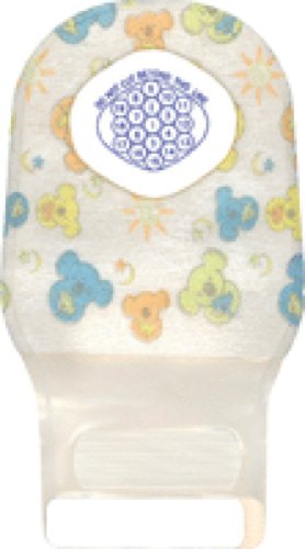 Convatec Little Ones Two-Piece Drainable Pouch with One Sided Comfort Panel with InvisiClose Clipless Tail Closure 0
