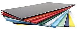 11x17 Presentation Covers - Fiberboard Pressboard (Brick Red)