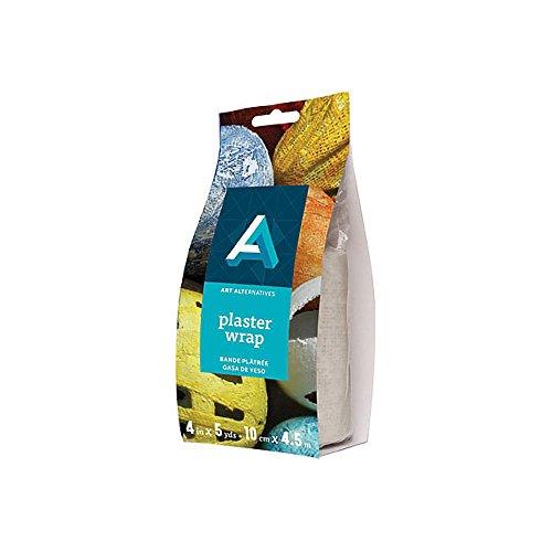 (Art Alternatives Plaster Wrap- Gauze Bandage Roll 4in x 5yd)