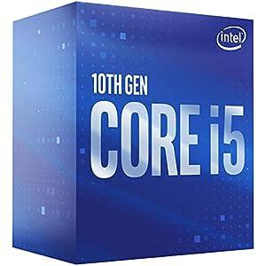Intel Core i5-10400 Desktop Processor 6 Cores up to 4.3 GHz LGA1200 (Intel 400 Series Chipset) 65W, Model Number: BX8070110400