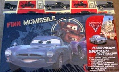 Disney Cars Secret Mission 560 Stickers Activities Incl Gift Box Set Paper Magic Group
