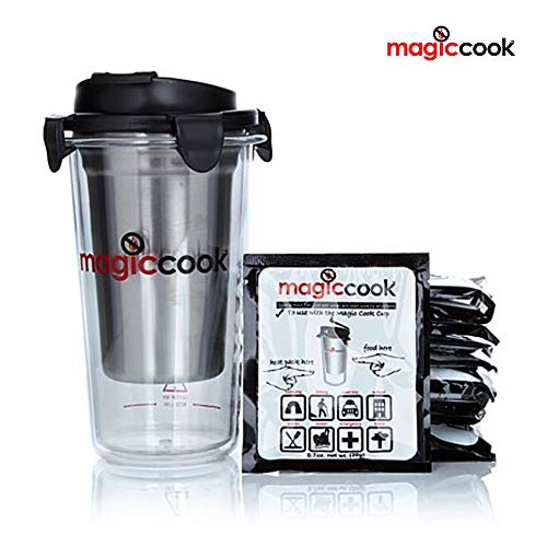 Magic Cook Triple Layers Bottle Tumbler Cup with 11 Refill Leaked Proof Sealed