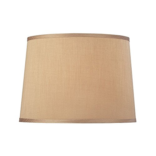 Dolan Designs 140013 Modified Barrel Hard Back Lamp Shade, Bronze/Dark ()