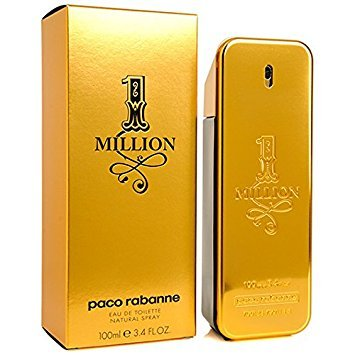1 one Million 3.3 oz / 3.4 oz / 100 ML By Paco Rabanne EDT F