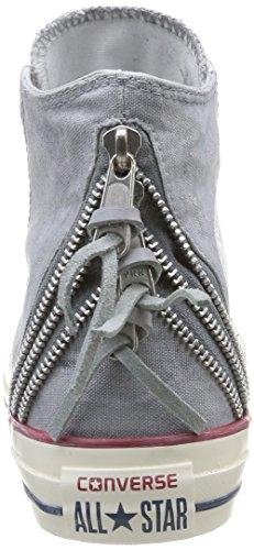 Deporte Tri gris de Zip canvas Unisex Taylor Converse Wash Zapatillas Chuck gris de 6wqSAx0