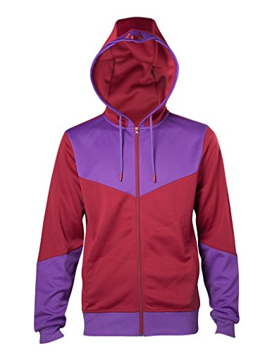 X-Men Hoodie Magneto Costume Official Marvel Mens Zipped