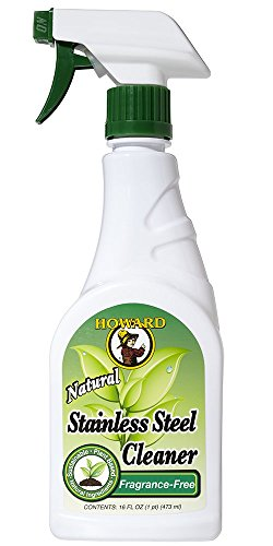 Howard Products SS0012 Stainless Steel Cleaner, 1 Pack, Fragrance Free