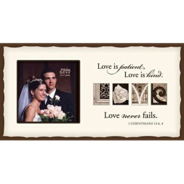 Alphabet Wall Art Print Photo Picture Frame Love Is Patient Kind Corinthians 13