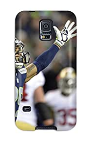 Best seattleeahawks NFL Sports & Colleges newest Samsung Galaxy S5 cases
