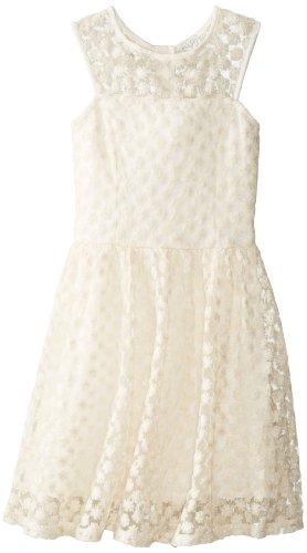 Ella Moss Big Girls' Taylor Dress, Cream, 12
