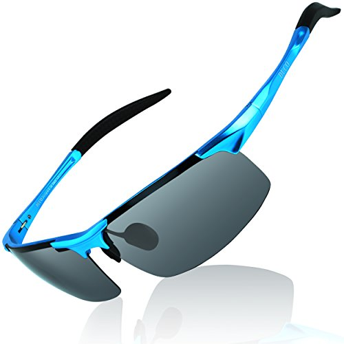 DUCO Mens Sports Polarized Sunglasses UV Protection Sunglasses for Men 8177s (Best Polarized Running Sunglasses)