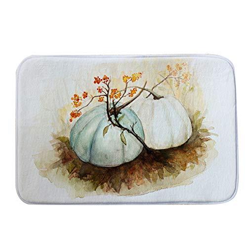 - Halloween Decor KIKOY Pumpkin Series Welcome Door mats Indoor Home Carpets 40x60CM
