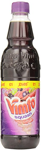 Vimto Blackcurrant Drink England, 23.6 Ounce Plastic Bottle]()