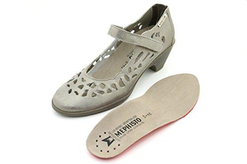 de Zapatos mujer Mephisto para Taupe vestir Dark pCgn5q