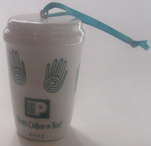 Peets Coffee Tea Cup Ornament
