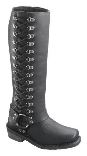 Wolverine Harley-Davidson Women's Romy Inside Zip Boots. Shaft 14.5
