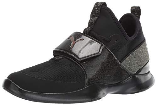 PUMA Women's Dare Trainer Sneaker, Black, 9 M US ()