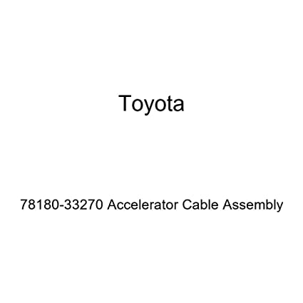 Toyota 78180-33270 Accelerator Cable Assembly