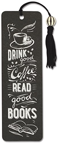 Coffee & Books Beaded Bookmark (Bookmarks Women)