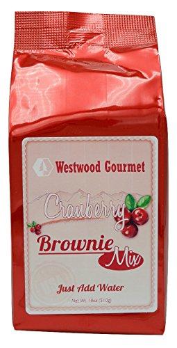 Westwood Gourmet Brownie Mix, 18 oz (Cranberry)