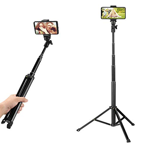 Tripod Stand with Flip Lever for UBeesize Ring Light Stand Set