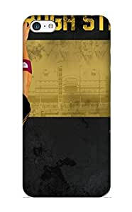 Case For Iphone 5c Tpu Phone Case Cover(pittsburg Steelers Nfl Football R) For Thanksgiving Day's Gift