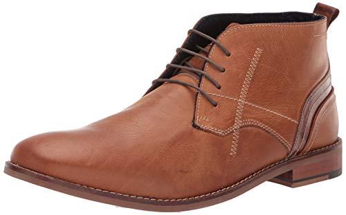 Steve Madden Men's Kurtis Ankle Boot tan Leather 9.5 M US