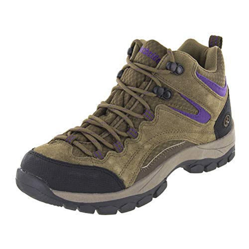 Northside Women's Pioneer-W Hiking Boot, Medium Brown/Dark Purple, 7.5 M US