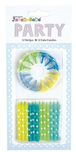 Velas Decorativos Fiestas Mesas Cumpleaños Niños (Velas Azul ...
