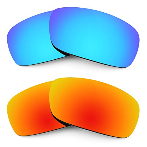 Revant Replacement Lenses for Arnette Infamous AN4076 2 Pair Combo Pack ()