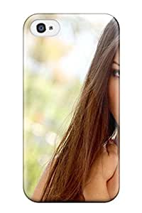 Defender Case For Iphone 4/4s, Women Face People Women Pattern