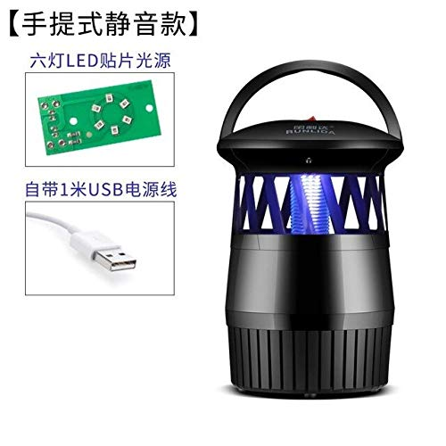 Outdoors Mushroom Baby Student Trap Nothing Radiation The Mosquito Lamp Household Restaurant Battery Type Hotel Mosquito Organ   4
