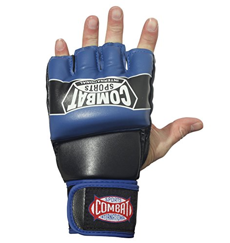 Combat Sports Pro Style MMA Muay Thai Grappling Training Sparring Half Mitts Gloves