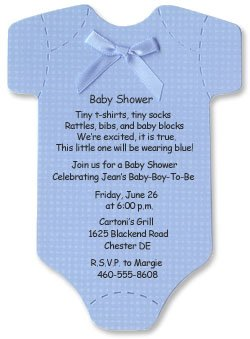 Amazon baby shower invitations onesie cards for baby boy baby shower invitations onesie cards for baby boy filmwisefo