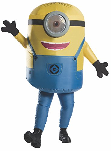 Rubie's Men's Minions Inflatable Minion Stuart Costume, Yellow, Standard - http://coolthings.us