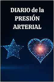 Diario de la Presión Arterial: Rastreador de presión arterial y ritmo cardíaco, diario simple y fácil de usar para la lectura diaria de la presión arterial
