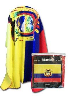 """Ecuador - 50"""" x 60"""" Polar Fleece Blanket"""
