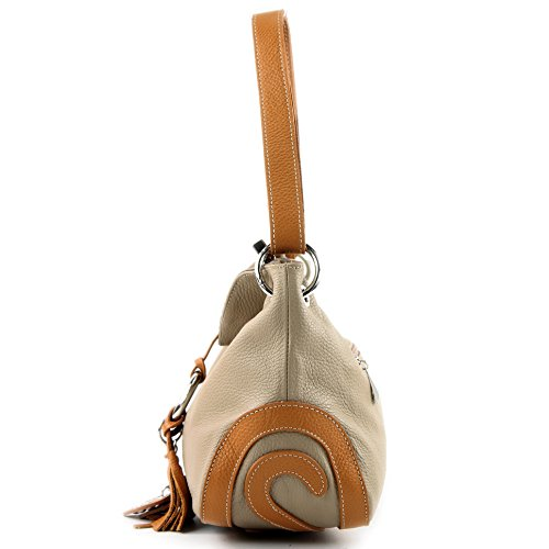 Taupe de Camel T10 cuir modamoda sac italien crossover ZqxvRw