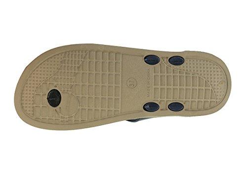 Beppi Zapatillas de zapatillas señoras Tythes Renner verano zapatillas Azul marino