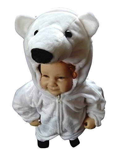 12 Month Old Costume Ideas (Fantasy World Polar Bear Halloween Costume f. Babies/Infants Size: 9-12mths, F24)