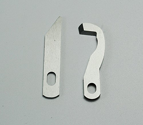 CHENGYIDA 2pc Set Upper&Lower Knife For Brother,1034D, XB0563001 & X77683001