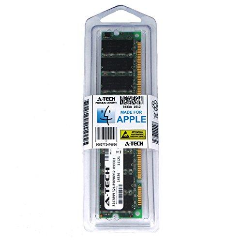 A-Tech for Apple 512MB Module PC133 133MHz Power Mac G4 2002 M7627LL/A M5183 M7688LL/A M7945LL/A M7681LL/A M8359LL/A M8493 M8360LL/A M8361LL/A M8705LL/A M8666LL/A M8667LL/A M8182LL/A Memory RAM