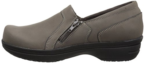 Easy Works Women's Bentley Health Care Professional Shoe, Grey Nubuck, 7.5 W US by Easy Works (Image #5)