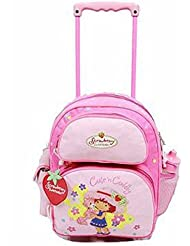 Strawberry Shortcake Rolling Backpack 33704