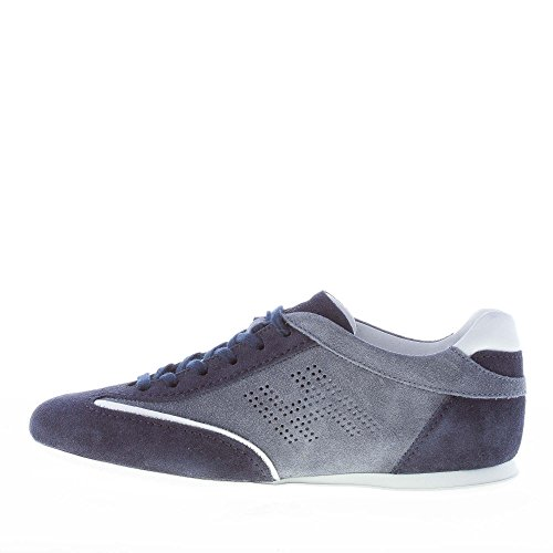Hogan Olympia Uomo Sneaker in camoscio Blu più Celeste Blu Comprar Barato Asequible El Más Barato Mejores Precios De Descuento Venta Barata Buscando jyCzFq6